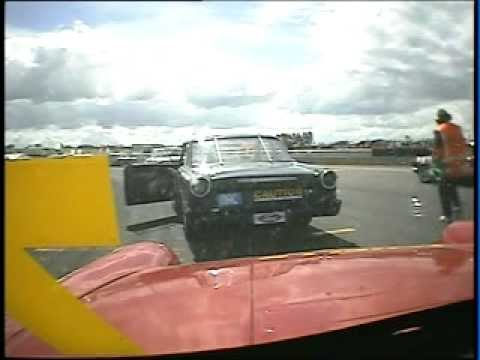 Pre 65 Racing Andrew Stevenson Ford Anglia Nth Sth...