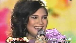 Vina Morales Sings A New Day Has Come On ASAP