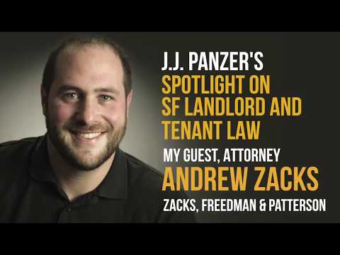 SF Landlord and Tenant Law with Attorney Andrew Zacks