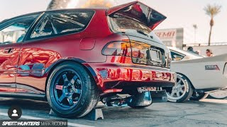 Building a HONDA EG HATCH for (2019 SEMA) in 9 Minutes