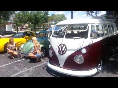 Custom, Lowered VW Bus: 1966 Volkswagen Type 2 - [WHEELS