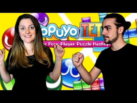 GUILLAUME VS KIM | PUYO PUYO TETRIS NINTENDO SWITCH FR