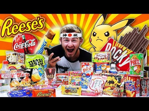 THE TOKYO CANDY TROLLFEAST! (14,000+ CALORIES)