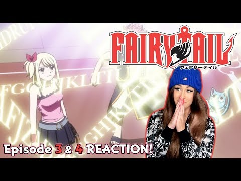 DEAR KABY! Fairy Tail Episode 3 & 4 REACTION!
