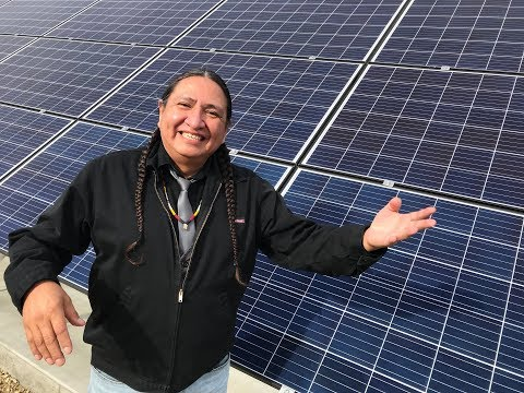188 CKUA - Louis Bull Tribe goes solar and trains workers