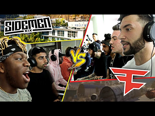 FaZe Clan vs Sidemen - PART TWO (Modern Warfare 2)