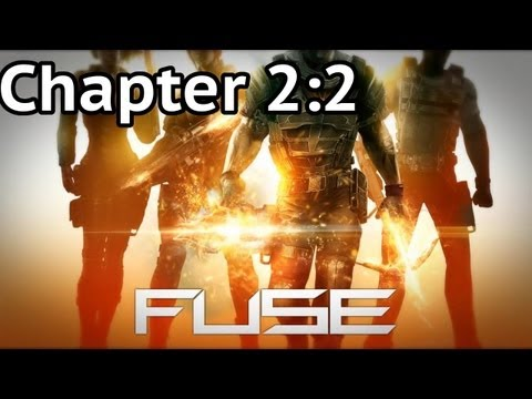 Fuse (4 Player Co-op): Chapter 2 - Part 2: Triton Outpost (Hard) HD Walkthrough