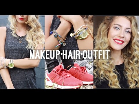 casual-grwm---makeup-•-hair-•-outfit-♡-|-bella