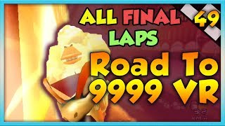Video Mario Kart Wii Custom Tracks - ALL FINAL LAPS?! - Road To 9999 VR | Ep. 49 download MP3, 3GP, MP4, WEBM, AVI, FLV April 2018