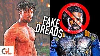 Michael B. Jordan's Fake Dreadlocks
