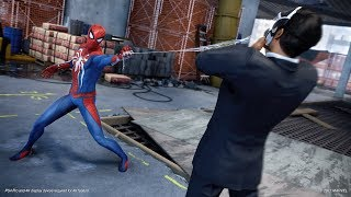 Spider Man - E3 2017 PS4 Gameplay extract - cool web attacks