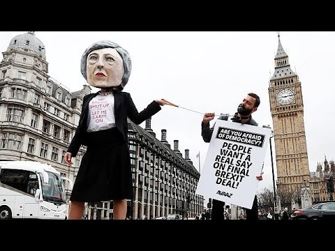 Brexit - mixed reactions on the streets of London
