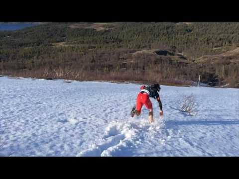 "ÅEC 2017 Course update #2. ""Snow roller"" Downhill running (2 June)"