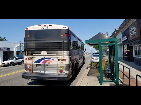 NJ Transit 168 (7723) Paramus Park Mall