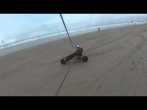 GOPRO line mount kite buggy