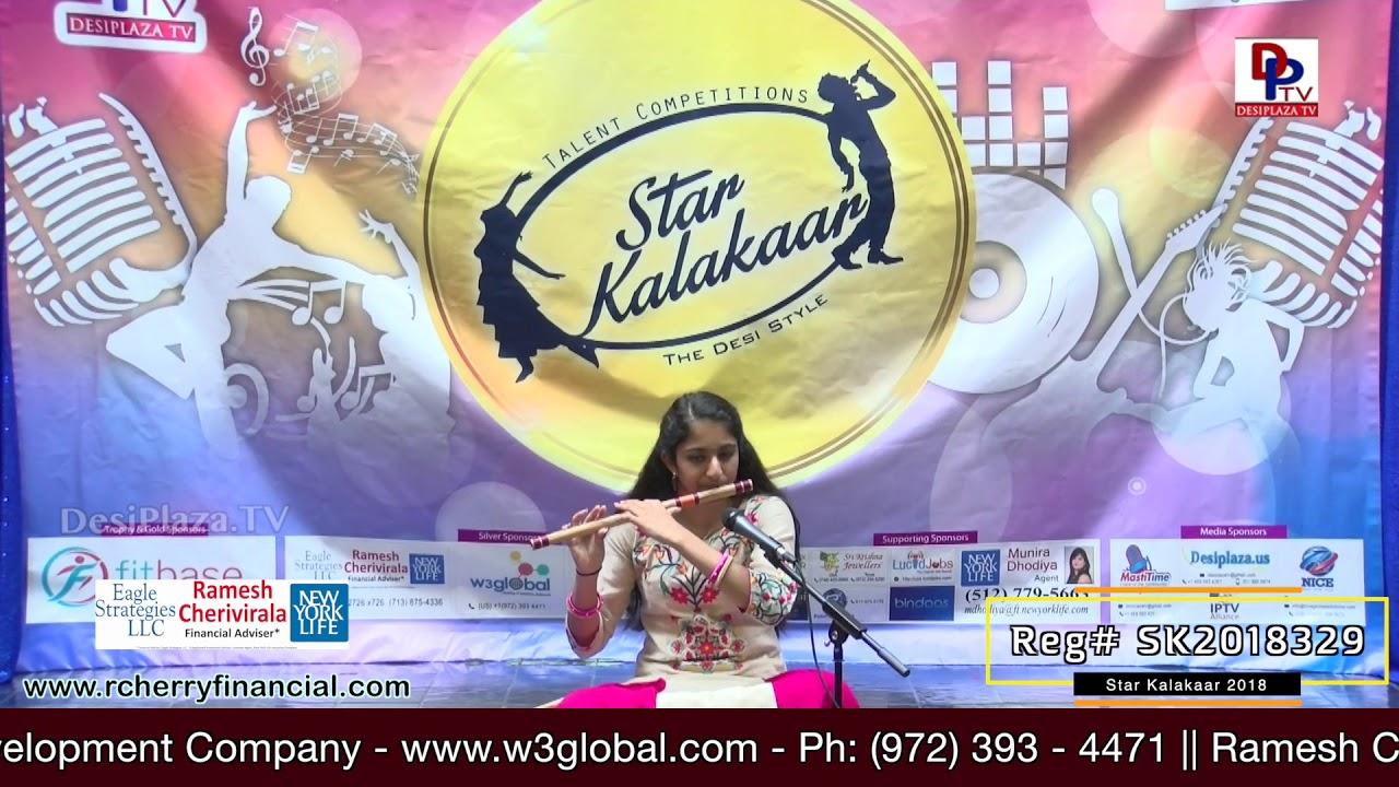 Participant Reg# SK2018-329 Performance - 1st Round - US Star Kalakaar 2018 || DesiplazaTV