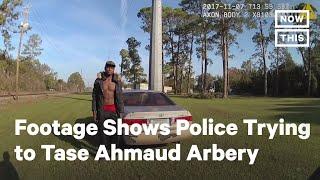 New Footage Shows Georgia Police Trying to Tase <b>Ahmaud Arbery</b> ...