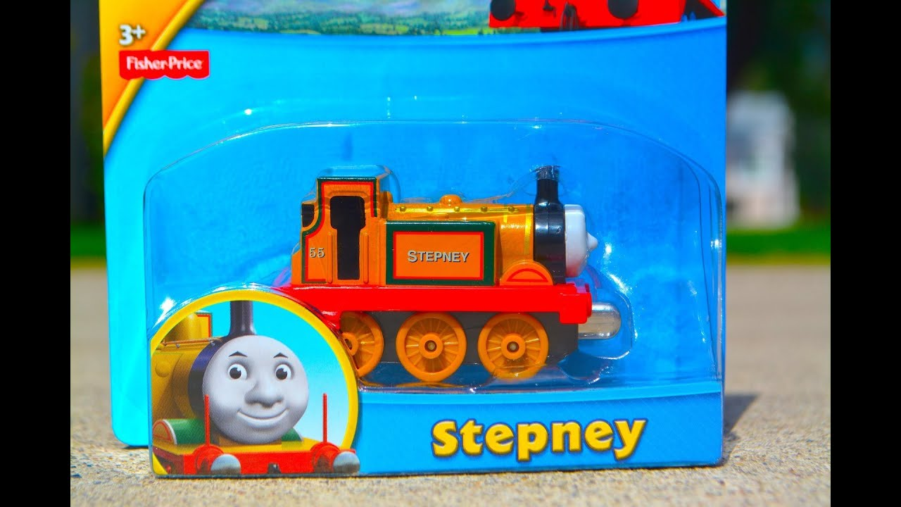STEPNEY - Thomas Take N Play NEW 2014 Die Cast Toy Train Review By ...
