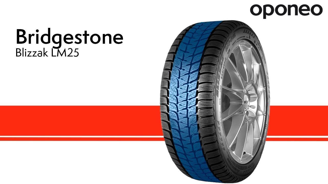 Opona Bridgestone Blizzak Lm25 Opony Zimowe Oponeo Youtube