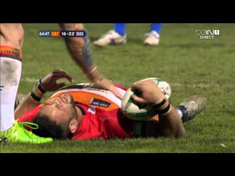 Rugby League 2013 Super League Catalans Dragons vs Wakefield Trinity (2nd Half)