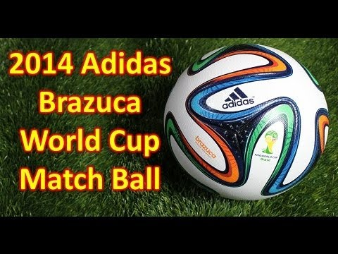 Adidas Brazuca 2014 World Cup  Match Ball Unboxing  Overview