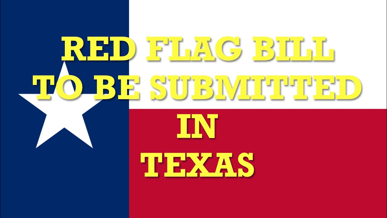 Red Flag To Be Reintroduced in Texas