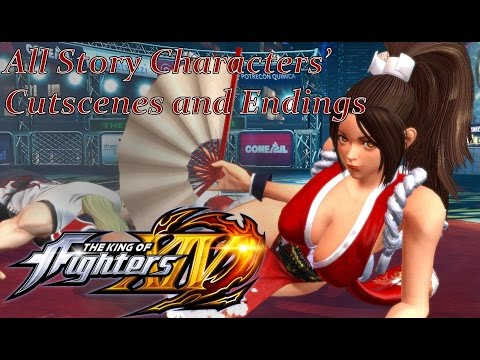 The King of Fighters XIV - All Story Mode Cutscenes & Endings Movie [English, Full 1080p HD, 60 FPS] - 동영상