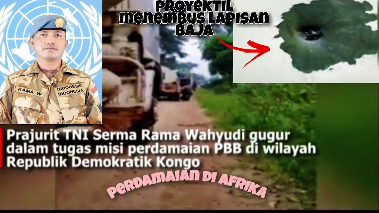 Viral video amatir kendaaraan Serma RAMA WAHYUDI yang GUGUR dan masih terdengar suara baku tembak!!