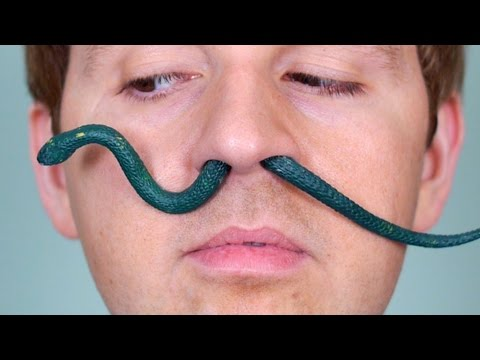Thumbnail: SNAKE IN NOSE!