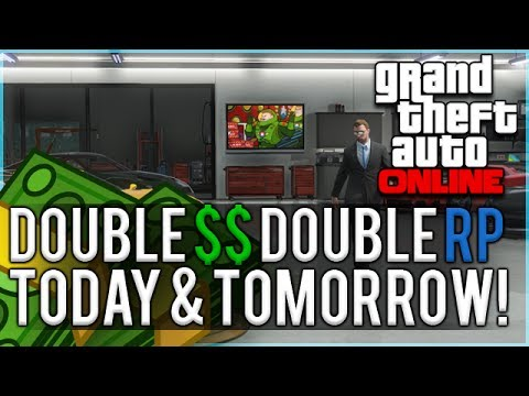 GTA Online: Get Double GTA$ & Double RP Today And Tomorrow In GTA Online