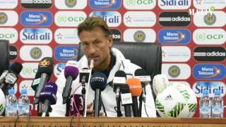 Match amical Maroc - Burkina Faso : Hervé Renard s'exprime face à la presse