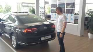 Открыть багажник ногой? Легко! Новый Volkswagen Passat.(, 2015-09-04T04:55:19.000Z)