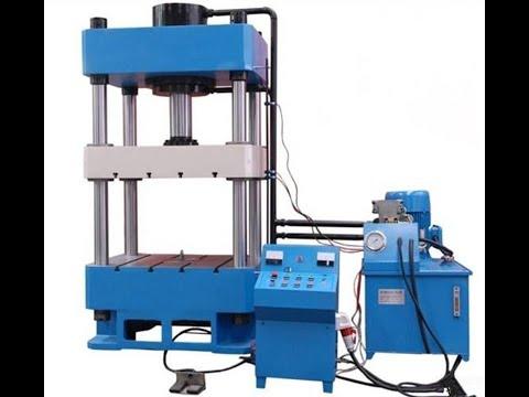 Aluminum pot making machine , Alu Cookware hydraulic press machine made in China