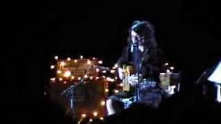 PJ Harvey - The piano live @ Paris Grand Rex