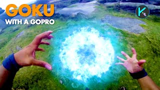 Goku with a GoPro (Real life DragonBall Z) thumbnail