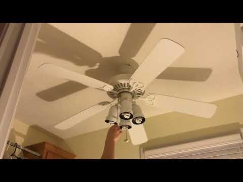"52"" Harbor Breeze Builder's Best Ceiling Fan (3 Of 3) (2019 Remake)"