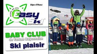 Ecole de ski Alpe d'Huez Easyski Baby club 1617