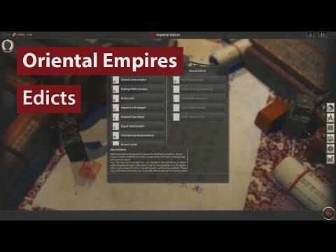 Oriental Empires - Beginner's Guide #6: Edicts