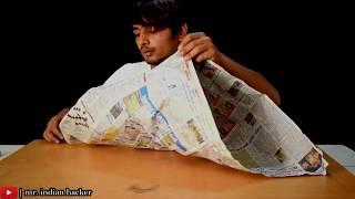 how to make a hot air balloon in Hindi