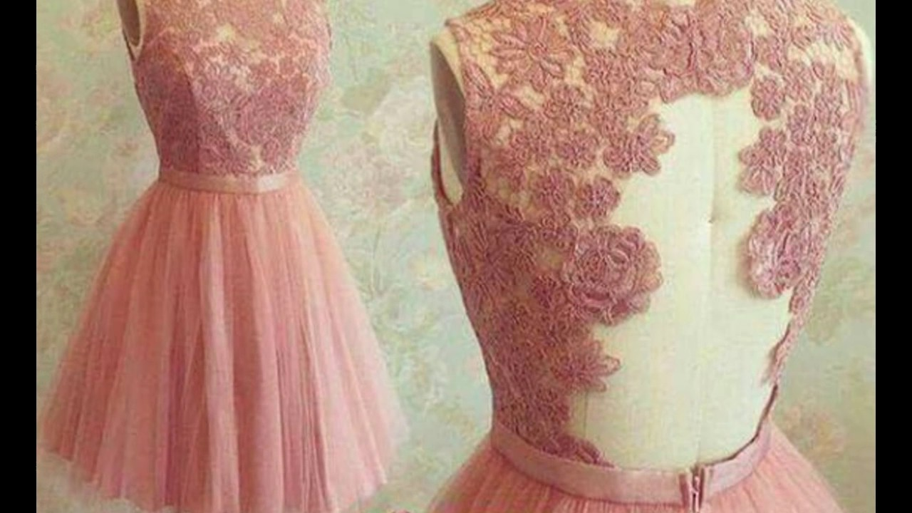 Beautiful Pink Colored Dresses Trend Color