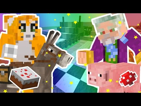 Wizard Keen's Creative Minecraft Realm - Stampy 's Race track [10]