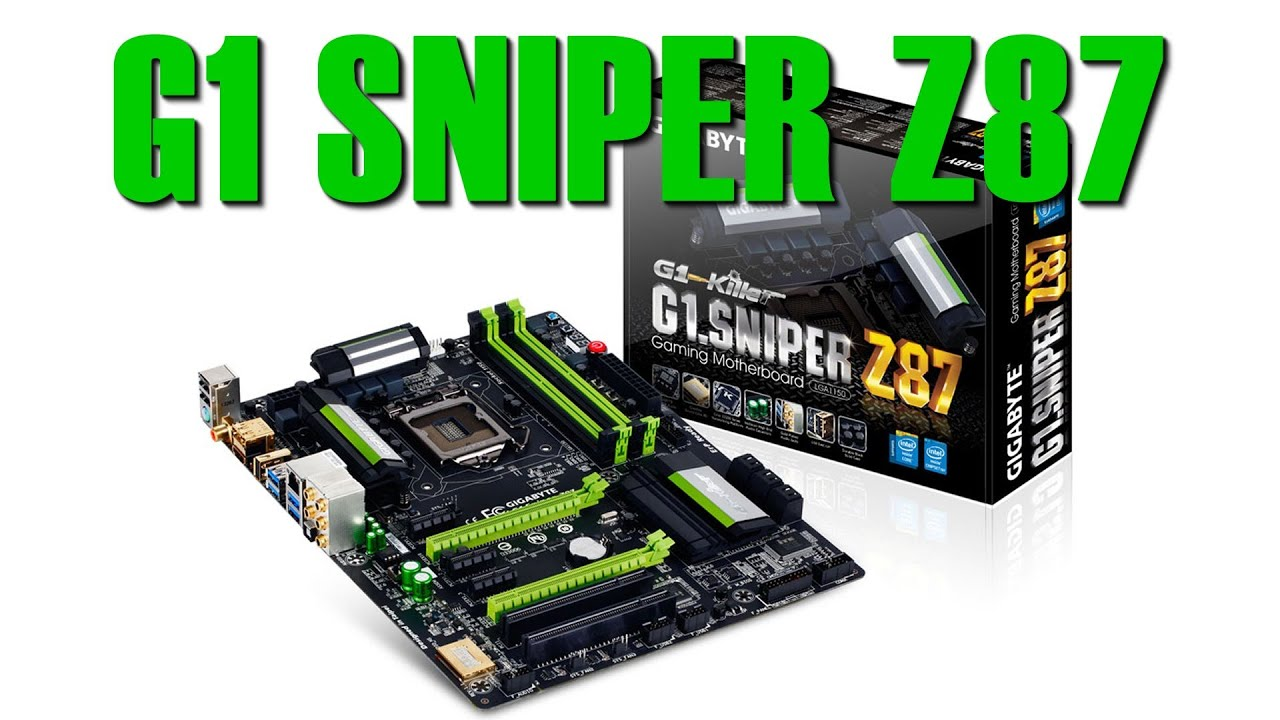Gigabyte G1 Sniper Z87 Review | Introduction and Technical
