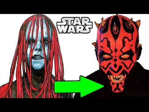 Download Youtube: Darth Maul's TERRIFYING Original Look That We NEVER Saw - Star Wars Explained