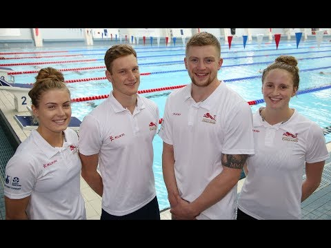 English swimmers selected for Gold Coast 2018 Commonwealth Games