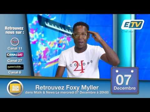 MIZIK AND NEWS AVEC FOXY MYLLER TEASER