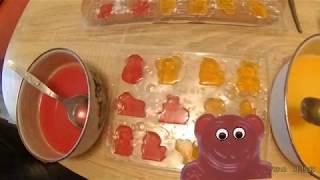 Желейные конфеты своими руками с Желейным Медведем Медвежуйкой