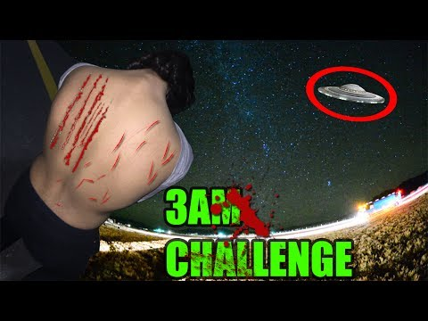 (ATTACKED BY DEMON) 3 AM OVERNIGHT CHALLENGE IN AREA 51 || TWO MAN HIDE AND SEEK GONE WRONG!!