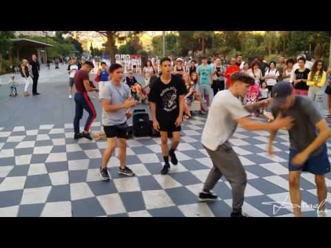 Street Dance Show in Nice
