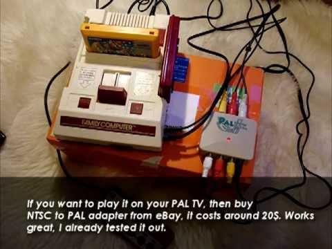 Famicom 5 Av Mod Tutorial Play On Pal Tv 2015