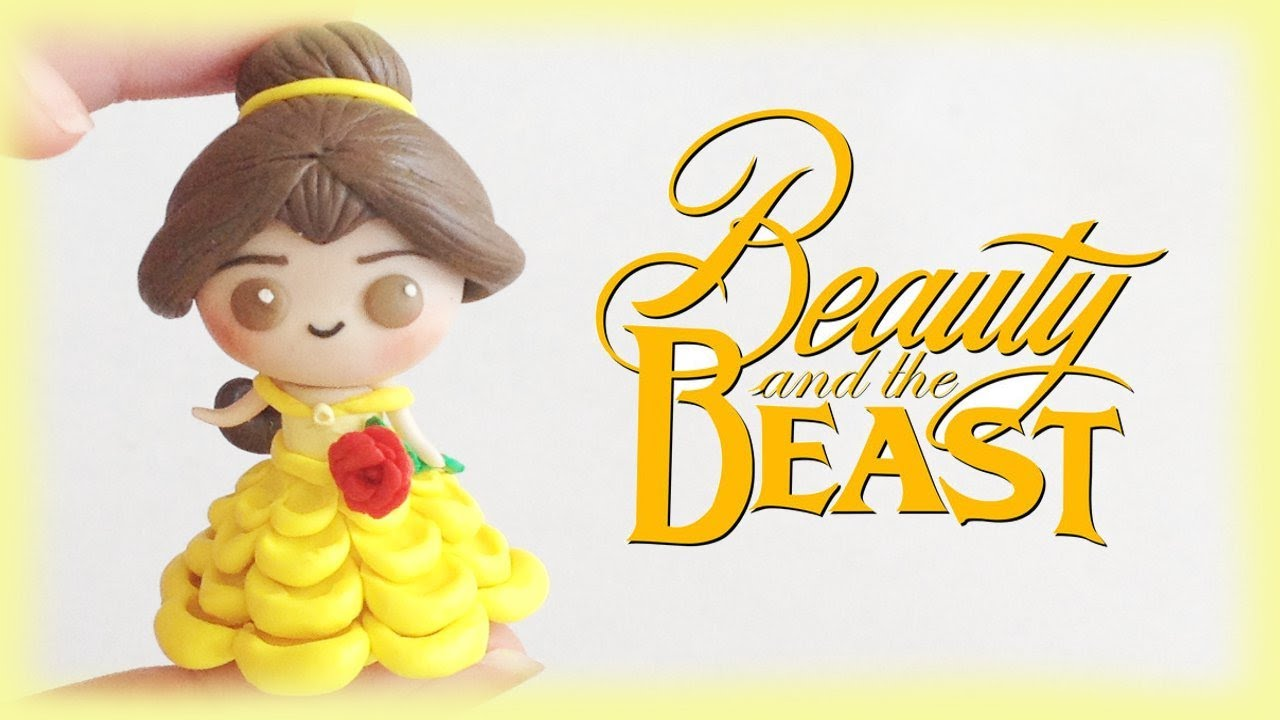 Disney belle chibi clay tutorial from beauty and the beast youtube disney belle chibi clay tutorial from beauty and the beast baditri Images